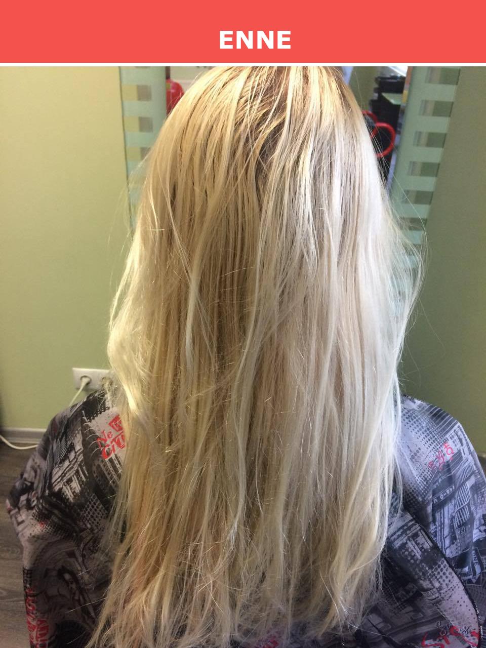 Blondeerimine Tuuletuka salongis