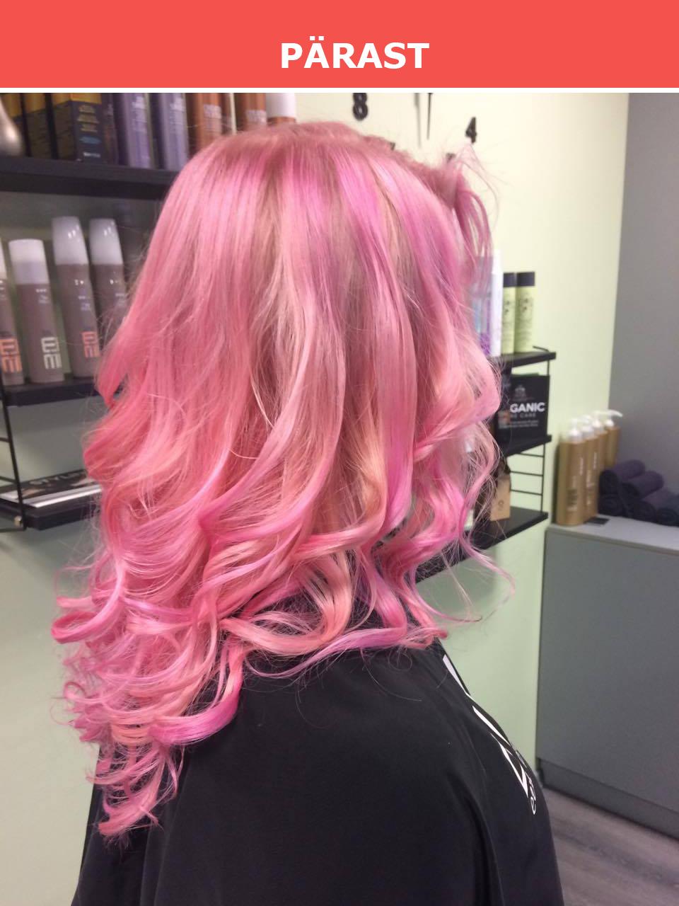 Soovid vaheldust oma igapäevasesse väljanägemisse? Värvi juuksed roosaks.