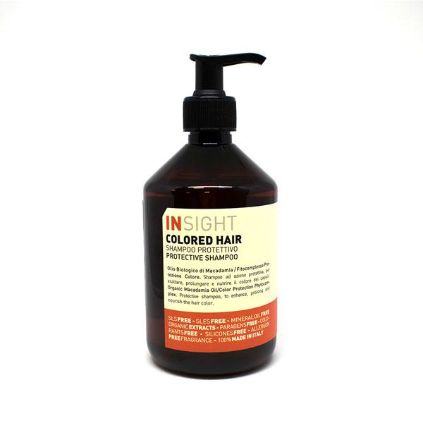 Insight Colored Hair šampoon on mõeldud spetsiaalselt juustele, mis on triibutatud või värvitud.