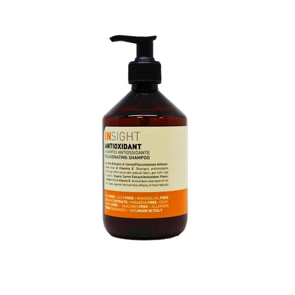 Insight Antioxidant šampoon on noorendava toimega hästilõhnav toode.