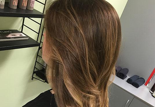 Kuumakäärilõikuse tulemus, kohevad ning tugevad juuksed.