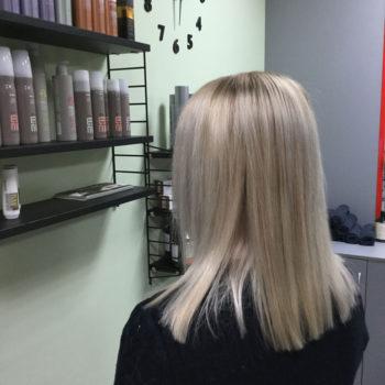 Blondeerimine ja lõikus