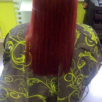 Punased juuksed
